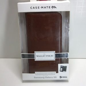 Samsung Galaxy S6 Leather Wallet